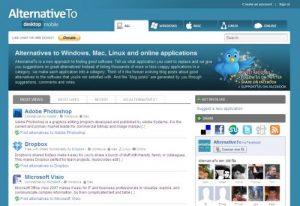 Procurando alternativas ao software que você tem?