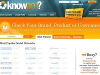 Reserve seu nome de usuário em vários sites 4