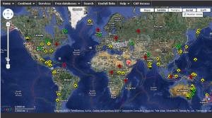 Veja um mapa com as tragédias ao redor do mundo