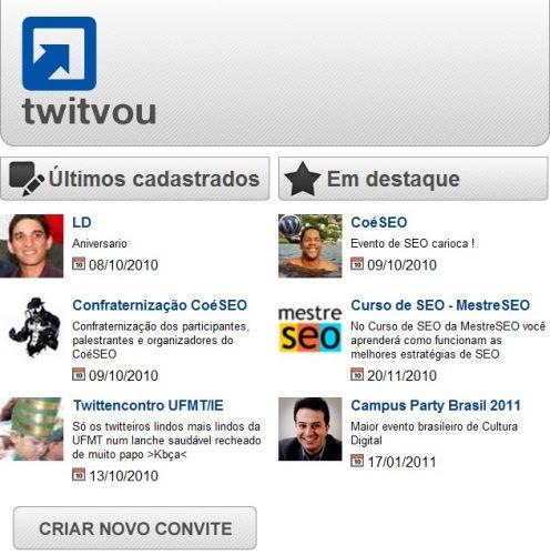 Envie convites pelo TwitVou 1