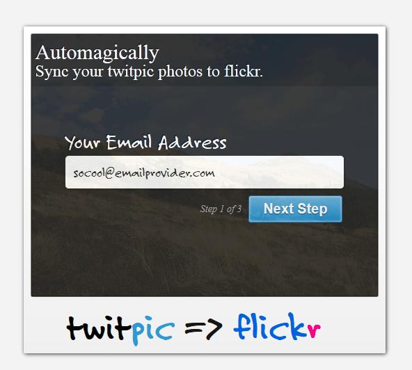 Sincronize as fotos do Twitpic e do Flickr 1