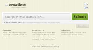 Proteja seu email de spam com o Emailerr
