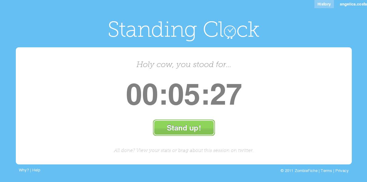 Controle o tempo que você passa sentado 1
