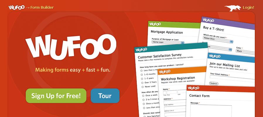 Crie formulários online com o Wufoo 1