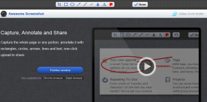 Ferramentas para tirar screenshots (captura de tela) com seu navegador