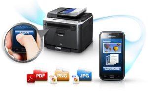 Use a sua impressora samsung através do seu celular