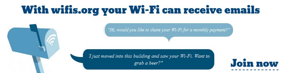 Use sua rede WIFI para divulgar seu site 1