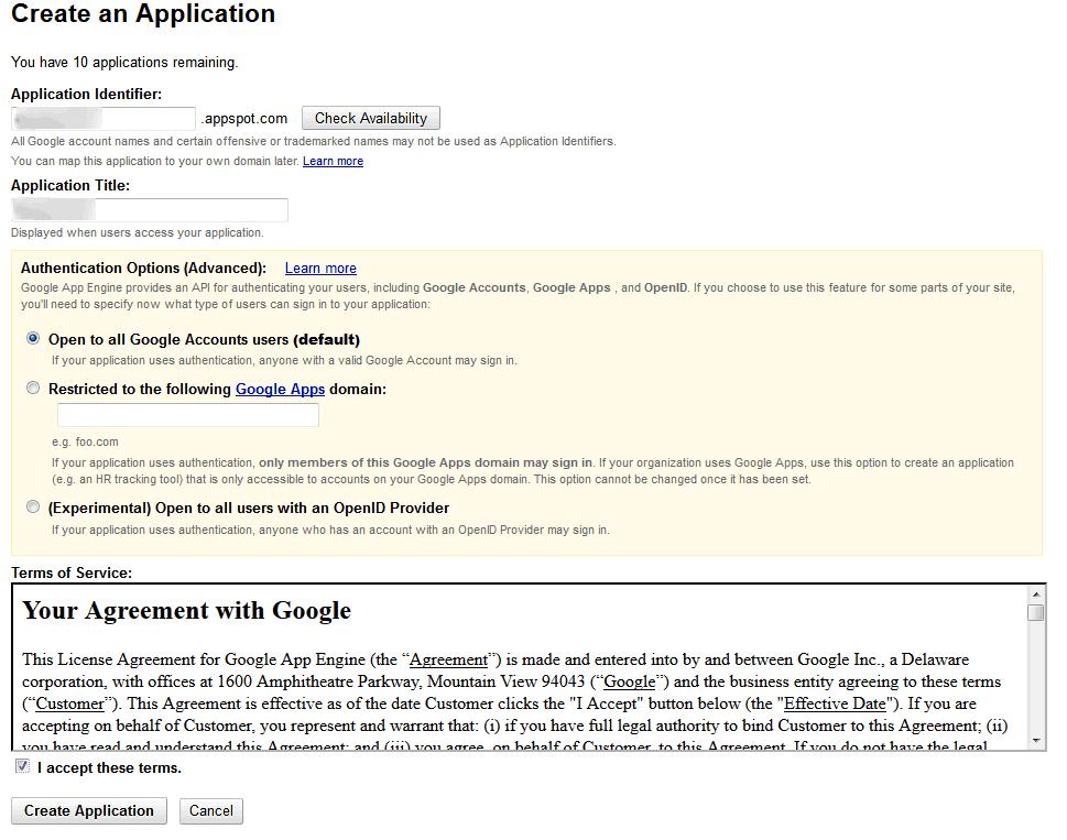 Como conseguir uma conta gratuita no Google Apps 1