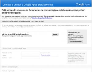 Como conseguir uma conta gratuita no Google Apps