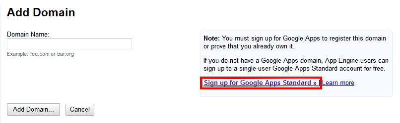 Como conseguir uma conta gratuita no Google Apps 5