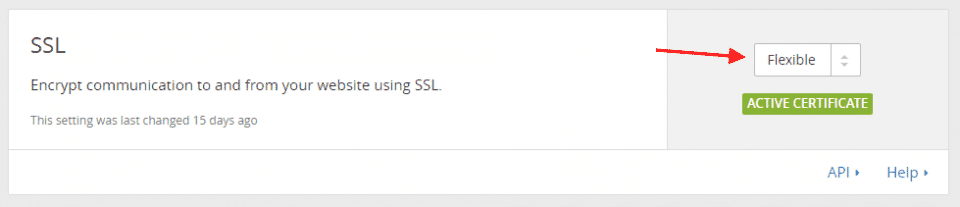 Usando o SSL do Cloudflare no seu WordPress em 5 minutos 4