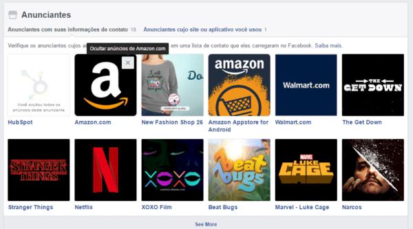 Alterando sua preferência de anúncios no Facebook
