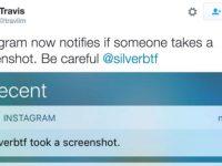 Instagram agora avisa quando tiram screenshot de mensagens