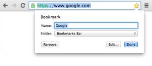 Como adicionar separador aos favoritos do Chrome