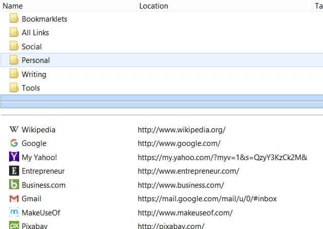 Como adicionar separador aos favoritos do Chrome 1