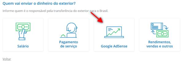 Recebendo pagamento do Adsense pelo Remessa Online 4