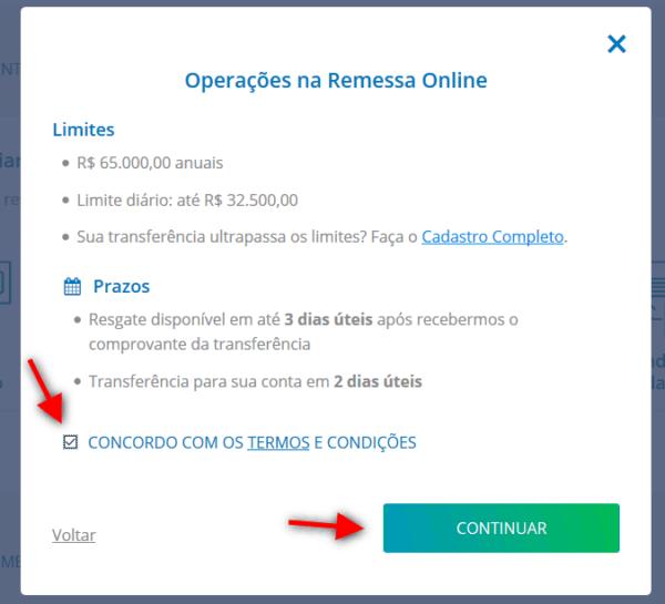 Recebendo pagamento do Adsense pelo Remessa Online 5