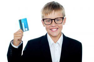 Conta bancária para menores